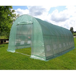 Serra tunnel 4x8m film 200gr/m² altezza 2,3m Green Protect