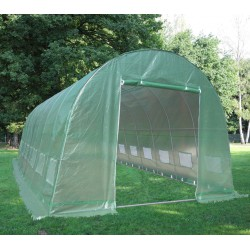 Serra tunnel 4x10m film 200gr/m² altezza 2,3m Green Protect