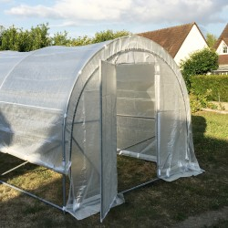 Serra tunnel Luxe 3x8m - 200gr/m² H2,40m - Green Protect