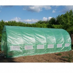 Serra tunnel 3x6m film 200gr/m² altezza 2,25m Green Protect