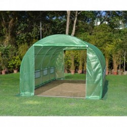 Serra tunnel 3x4,5m film 200gr/m² altezza 2,25m Green Protect