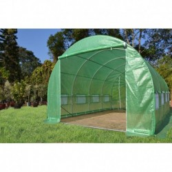 Serra tunnel 3x8m film 200gr/m² altezza 2,25m Green Protect